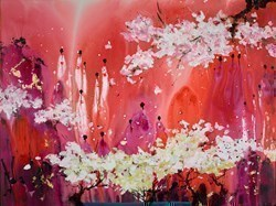 Bagan Morning by Danielle O'Connor Akiyama -  sized 48x36 inches. Available from Whitewall Galleries